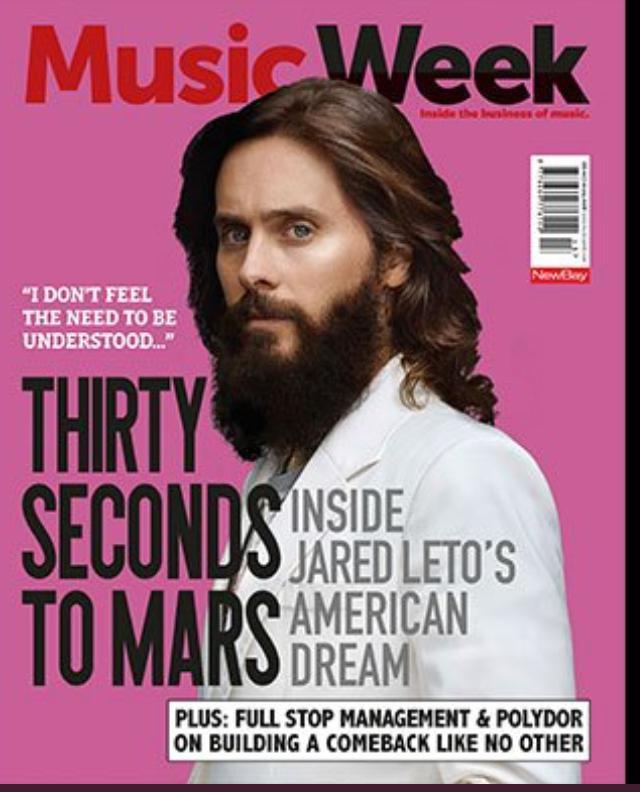 Music Week Magazine photography studio london SHED